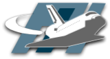Fliegendes Space-Shuttle, Logo des Pi1